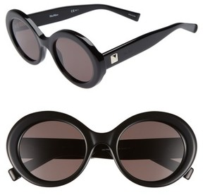Max Mara Women's Prism Viii 51Mm Oval Sunglasses - Black