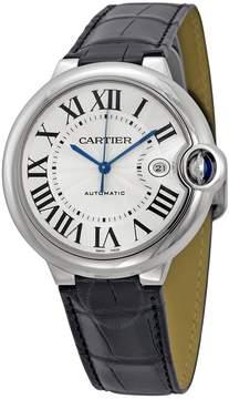 Cartier Ballon Bleu Automatic Silver Dial Men's Watch