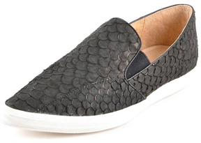All Black Fish Scale Shoe