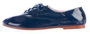 Bloch Patent Leather Round-Toe Oxfords