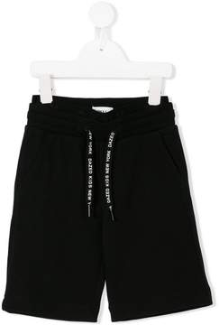 DKNY drawstring-waist track shorts