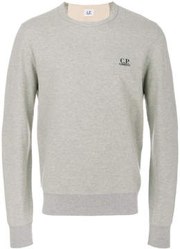 C.P. Company embroidered logo sweatshirt
