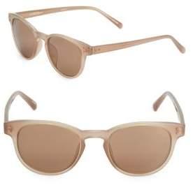 Linda Farrow Luxe 47MM Wayfarer Sunglasses