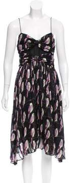 Erin Fetherston Silk Abstract Patterned Dress