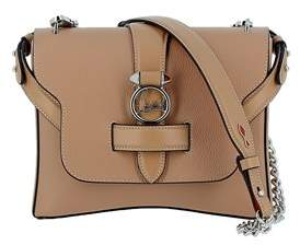 Christian Louboutin Women's Beige Leather Shoulder Bag.