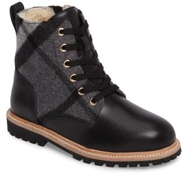 Burberry Toddler Boy's Mini William Genuine Shearling Boot