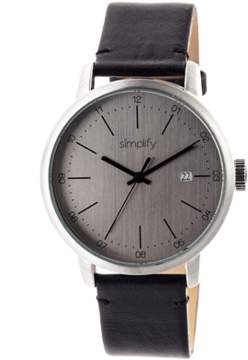 Simplify The 2500 Leather-band Watch.