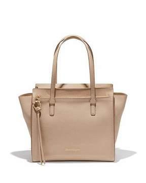 Salvatore Ferragamo Medium Leather Tote Bag, New Bisque