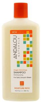 Andalou Naturals Argan Oil & Shea Moisture Rich Shampoo - 11.5oz