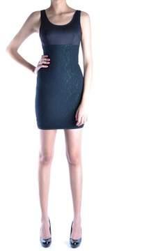 Dirk Bikkembergs Women's Black Cotton Dress.