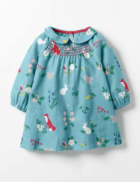 Boden Printed Smock Dress