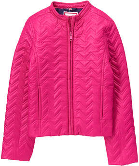 Gymboree Fuchsia Quilted Puffer Jacket - Toddler & Girls