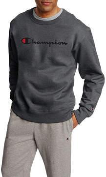 Champion Long Sleeve Crew Neck Sweat Shirt