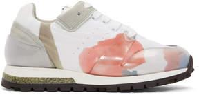 Acne Studios White Joriko Flower Sneakers