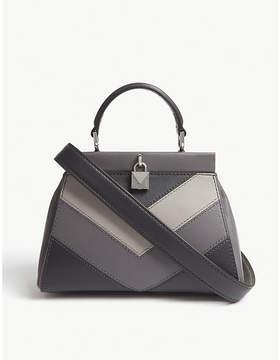 MICHAEL Michael Kors Gramercy colour-block chevron leather satchel
