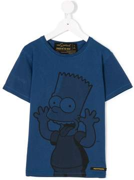 Finger In The Nose Simpson print T-shirt