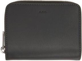 A.P.C. Grey Compact Wallet