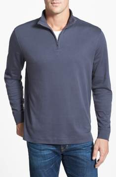 Cutter & Buck 'Belfair' Quarter Zip Pima Cotton Pullover