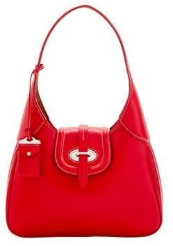Dooney & Bourke Florentine Toscana Hobo Shoulder Bag. - RED - STYLE
