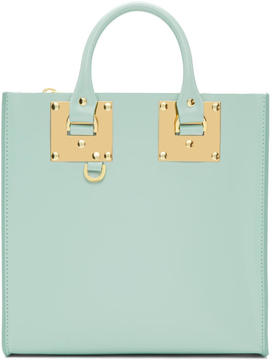 Sophie Hulme Blue Square Albion Tote