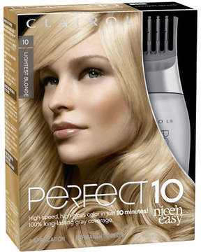 Clairol Nice 'n Easy Perfect 10 Permanent Hair Color 010 Lightest Blonde