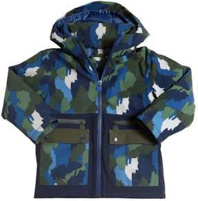 Stella McCartney Camouflage Print Nylon Ski Jacket