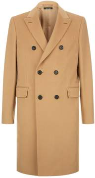 Dunhill Double Breasted Wool and Cashmere Coat