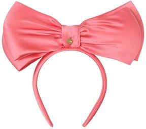 Ada Silk Satin Headband With Large Bow