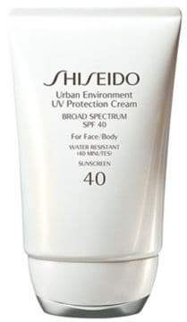 Shiseido Urban Environment UV Protection Cream SPF 40/1.9 oz.