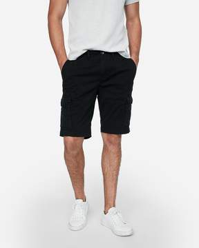 Express Classic Fit 10 Inch Stretch Cargo Shorts