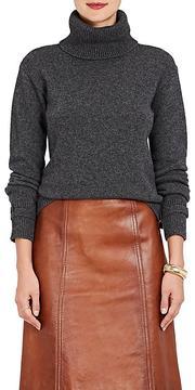 Prada Women's Belted-Cuff Wool-Cashmere Turtleneck Sweater