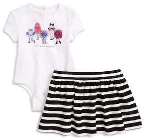 Kate Spade monster graphic bodysuit & skirt set (Baby Girls)