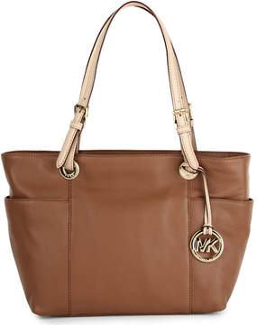 MICHAEL Michael Kors Jet Set top zip tote - LUGGAGE - STYLE