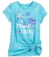 Disney Ariel and Flounder Fashion T-Shirt for Girls