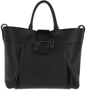 Tod's Double T Shopping Bag Large Black