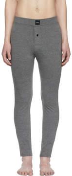 A.P.C. Grey Long Jeff Leggings
