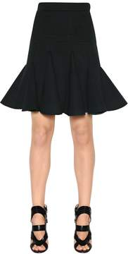 Antonio Berardi Ruffled Scuba Skirt