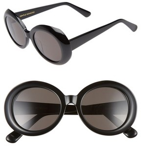 Gentle Monster Women's Red Pocket 52Mm Round Sunglasses - Black