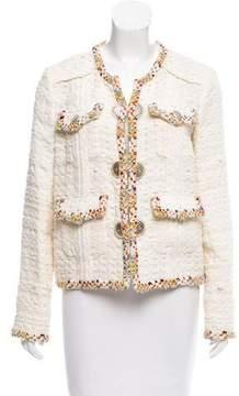 Chanel 2017 Paris-Cuba Tweed Jacket