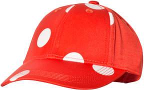 Mini Rodini Red and White Dot Cap
