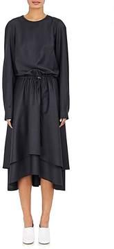 Cédric Charlier Women's Layered Gingham Wool-Blend Dress