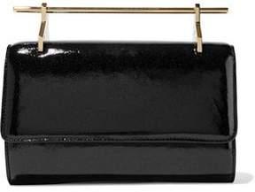 M2Malletier Patent-Leather Clutch Bag