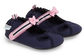 Robeez Infant Girl's Wave Catcher Crib Shoe