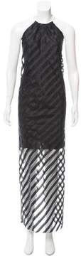 Fiorucci Striped Maxi Dress