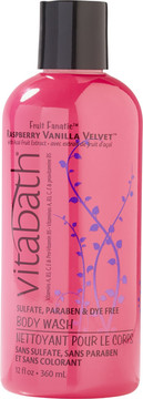 Vitabath Raspberry Vanilla Velvet Body Wash