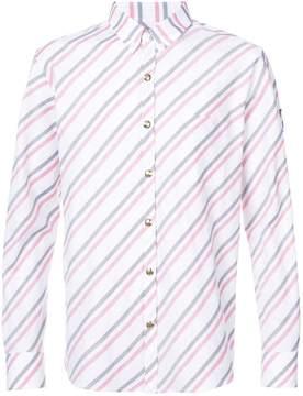 Moncler Gamme Bleu striped shirt