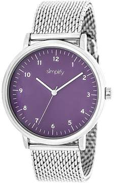Simplify The 3200 Collection SIM3204 Unisex Watch with Mesh Bracelet-Style Band