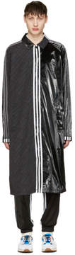 adidas by Alexander Wang Black Patch Coat
