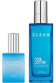 CLEAN Cool Cotton EDP & Eau Fraiche Duo
