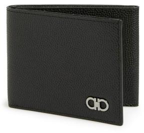 Salvatore Ferragamo Men's Trifold Wallet - Black